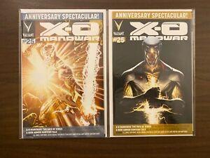 X-O Manowar 25 w/Variant High Grade Valiant Lot Set Run CL50-90