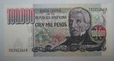 ARGENTINE - ARGENTINA - BILLET - 100000 PESOS - 1979-1983 - UNC