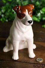 Ceramic Jack Russell Moneybox Animal Piggy Bank Figurine Dog Gift Home Decor