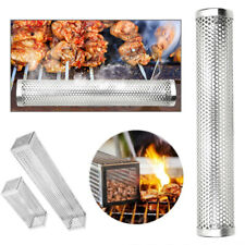 Smoker Wood Pellet BBQ Grill Hot Cold Smoke Generator Smoking Mesh Tube Exotic