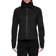 Asics Womens Metarun Winter Running Jacket Top - Black Sports Full Zip Hooded