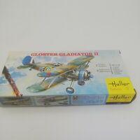 Heller Fighter Plane Gloster Gladiator II 1/72 Scale Model Kit #153 UNBUILT