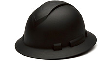 Full Brim Hard Hat Construction Safety Work Helmet Ratchet Graphite Pattern .