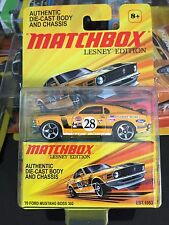 Matchbox Lesney Edition 2011 '70 Ford Mustang Boss 302 MOC