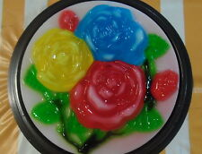Jello Mold Roses  # 21, Khuon rau cau, Dong Suong