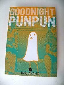 Goodnight Oyasumi PunPun English Manga Volume 1 Inio Asano EXCELLENT