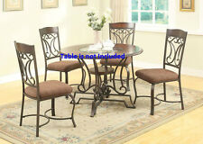 Kitchen Dining room 2pc Modern Dining Chairs Oak & antique Black Furniture Chair