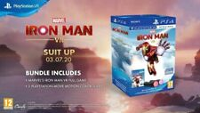 MARVEL'S IRON MAN VR PLAYSTATION MOVE BUNDLE  SONY GAME