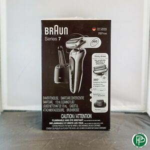 Braun 7071cc Wet & Dry Cordless Electric Foil Shaver Clean Charge Station NEW