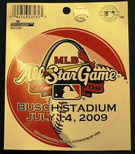 MLB 2009 ALL STAR GAME DECAL BUSCH STADIUM 7-14-2009 MBL LISENCED