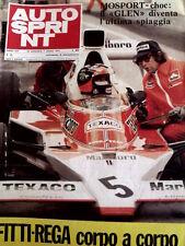 Autosprint 39 1974 Emerson Fittipaldi & Clay Regazzoni corpo a corpo  [Sc.40A]