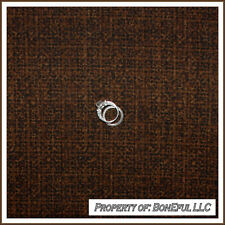 BonEful Fabric FQ Cotton Quilt Brown Calico Sm Blender Tone Tweed Dark Chocolate
