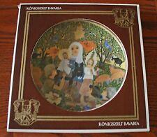 "1979 HEDI KELLER ""THE ADORATION"" Madonna & Child Bavarian COLLECTOR PLATE #d2116"
