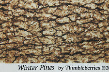 """""""WINTER PINES"""" THIMBLEBERRIES COTTON CHRISTMAS QUILT FABRIC BTY FOR RJR 1565-2"""