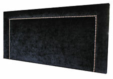 NEW  UPHOLSTERED STUDDED BEDHEAD/HEADBOARD KING SINGLE SIZE MADE TO ORDER