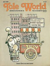 TOLE WORLD : Vol 6 No 7 - Back Issue - July 1982