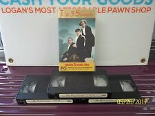 THE THREE STOOGES BOX SET OF 3 VHS VIDEOS CLASSIC SERIES