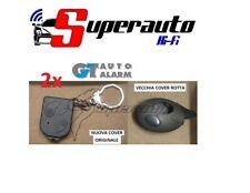 2 DUE GUSCI TELECOMANDO ANTIFURTO COVER GT AUTO ALARM ORIGINALE guscio GT482 482