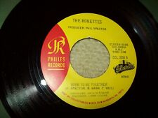 ronettes Walking in the rain / Born to be together  45 record Philles label 3208