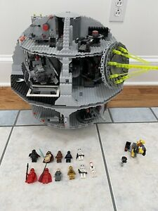 Lego Star Wars Death Star 10188 99% Complete With Minifigures W/ Protocol Droid