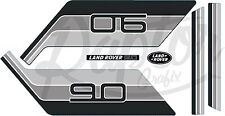 Land Rover Decals Stripes 90 2 door Defender Landrover Graphics stickers