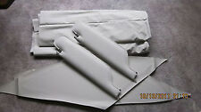 67-68 camaro sun visors with headliner parchment premiere perforated