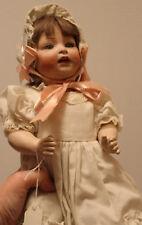 Antique Vintage German Kestner Baby Doll Mark at Crown 152 5 Open Mouth, Blue