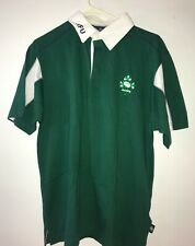 Men's Official IRFU Irish Rugby Mens Polo Shirt Size Small Canterbury
