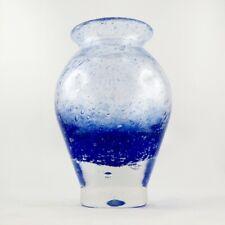 Superbe VASE Verre Bullé FARINELLI à BIOT, Glass Design, novaro/monod/loumani...