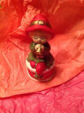 Adorabelles Jasco Hand painted Bisque Figurine Vintage Christmas Merri Bells