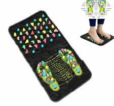 Relief Walk Massager Mat Health Care Acupressure Reflexology Stone Feet Leg Pain