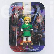 LEGEND OF ZELDA OCARINA TIME ADULT LINK MINI TOMY FIGURE Nintendo Boy Hero Rare