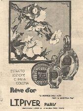 W4228 Profumo Reve d'or - L.T. PIVER - Pubblicità del 1930 - Vintage advertising