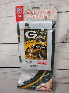 """Green Bay Packers Brett Favre Classics Vertical Flag 27"""" x 37"""" - Wincraft"""