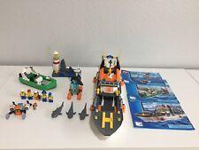LEGO City Coast Guard Patrol (60014) 100% Complete!!