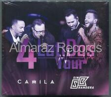 Camila y Sin Bandera 4 Latidos Tour  2CDS+DVD CAJA DE CARTON New Sealed Nuevo