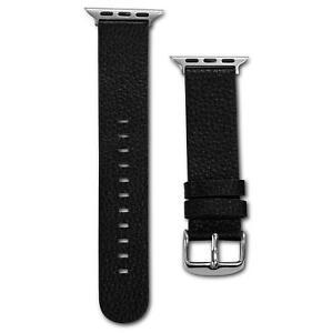 X-Doria Luxe Bande Cuir Noir Bracelet Pour Montre Apple 38 MM XD439664