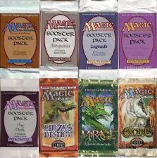 Magic The Gathering Vintage Booster Packs Revised Arabian Nights Legends Exodus