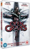 Open Graves DVD (2010) Eliza Dushku, de Arminan (DIR) cert 15 ***NEW***