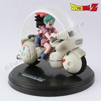 """Cool ! Anime DBZ Dragonball Z bulma&son gokou 8cm/3.2"""" PVC Figure No Box"""