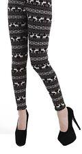 Pamela Mann Alpine Fleece Lined Winter Leggings - size UK 10 - 12 Winter Warmth