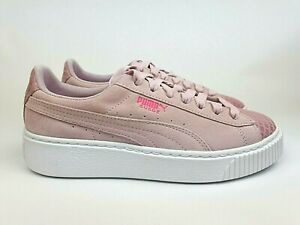 Puma Suede Platform Street Womens 'Winsome Orchid' New (9US) air disc trace w