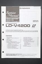Pioneer ld-v4200 laser vision Original Service-manual/Manuel/schéma! o36