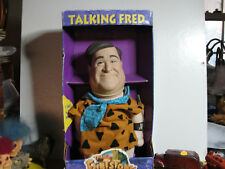 TALKING FRED FLINTSTONE IN ORIGINAL BOX / WITH INSTRUCTIONS