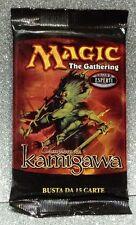 MAGIC THE GATHERING BUSTINA CAMPIONI DI KAMIGAWA 15 CARD BOOSTER ITALIA A