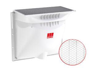 ACO Therm Komplett Set: Lichtschacht 1000 x 1000 mit 400 mm Tiefe + Metallrost