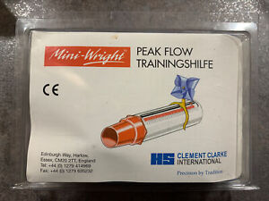 Peak flow meter Trainingshilfe Mini-Wright