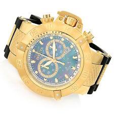 90129 Invicta 50mm Subaqua Noma III Swiss Quartz Chronograph Black Strap Watch