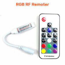 RGB RF LED Strip Remote control 12V DC Colorful Remoter 4 pins wireless