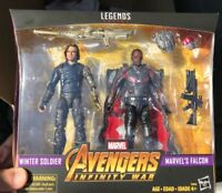 Marvel Legends Winter Soldier and Falcon 2 Pack Exclusive Sealed New MCU Target